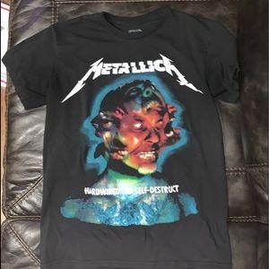 Metallica concert T shirt size small